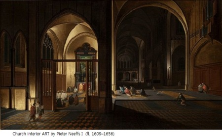 Pieter_Neefs_(I)_-_Church_interior