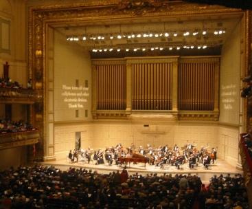 Symphony Hall Boston