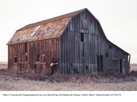 Building Architecture Decay Cabin Barn Abandoned