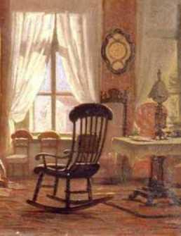 Johan_Zacharias_Blackstadius,_Interiör,_salong_med_läsande_flicka,_1850