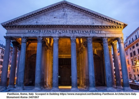 Building Pantheon Architecture Italy Monument Rome