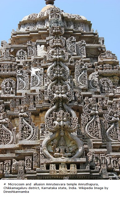 Kirtimukha_sculptures_on_shikhara_(tower)_of_Amrutesvara_temple_at_Amruthapura