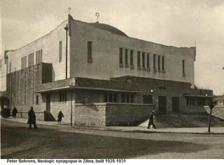 12 Peter Behrens Neologic Synagogue in Zilina 1928-1931