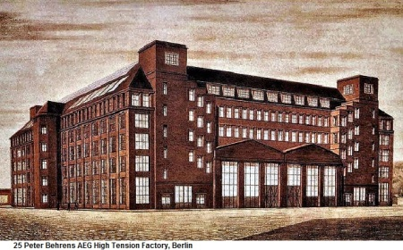 25 Peter Behrens AEG High Tension Factory, Berlin
