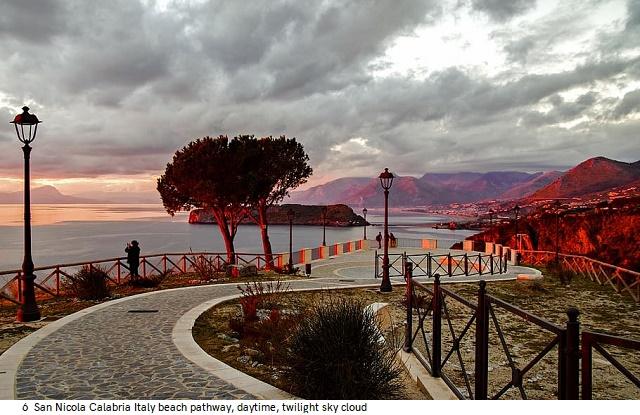 6 Col-13 Evening Colours san-nicola-arcella-praia-a-mare-sunset-noon