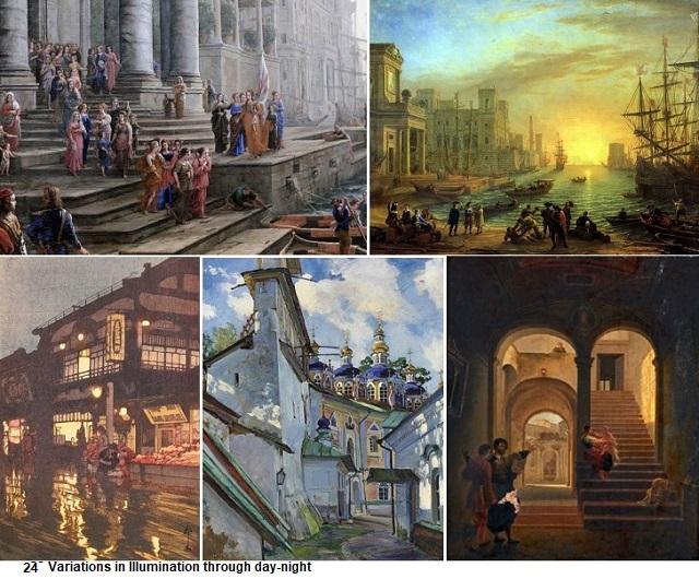 24 Variations in Illumination through day-night